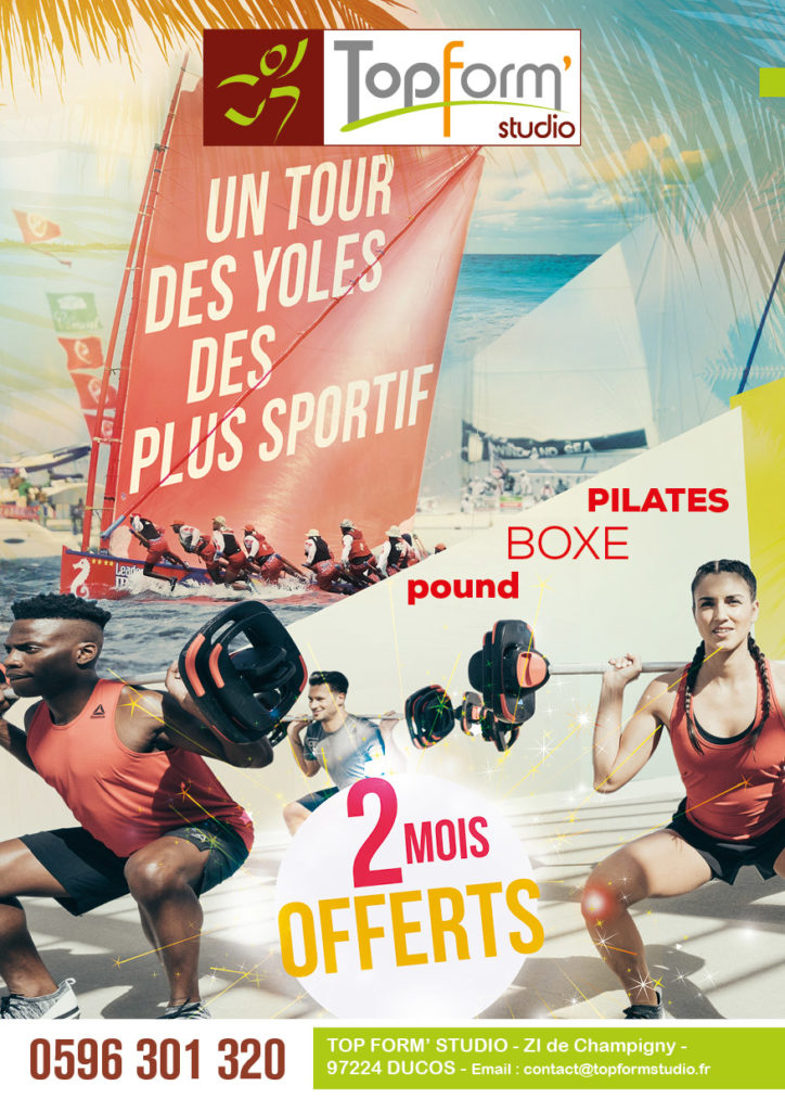 Top Form Studio - Un tour des yoles des plus sportif