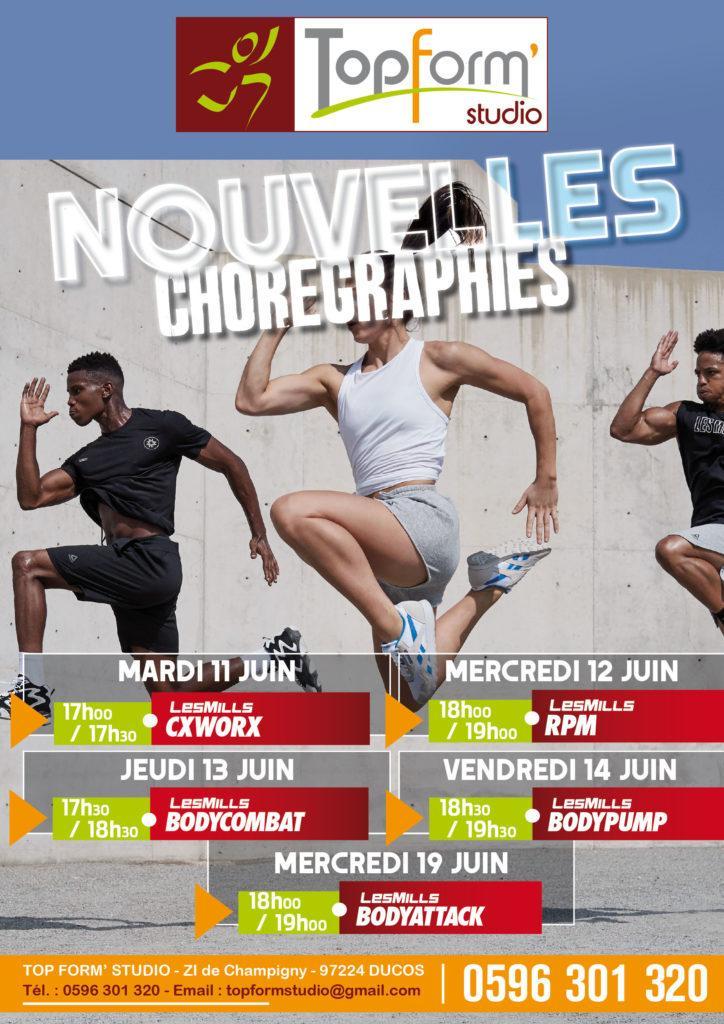 Nouvelles chorégraphies Top Form Studio